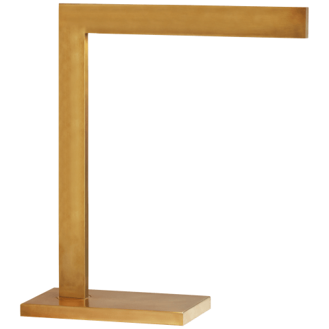 Lecce Desk Lamp in Hand-Rubbed Antique Brass