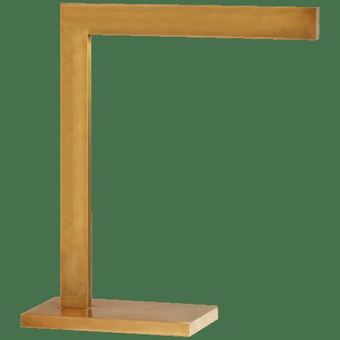 Lecce Desk Lamp in Hand-Rubbed Antique Brass