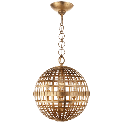 Mill Small Globe Lantern in Gild