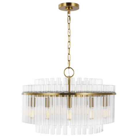 Beckett Medium Chandelier Burnished Brass