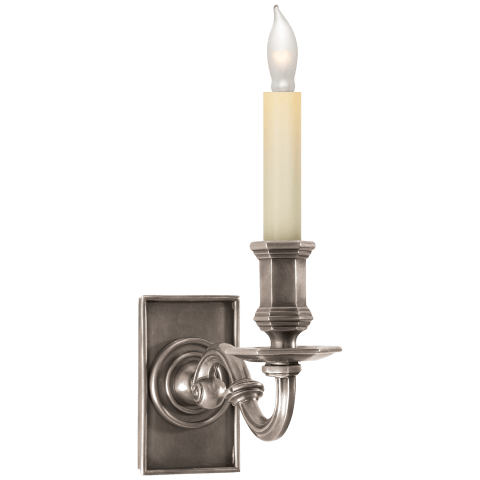 EFC Library Wall Sconce in Antique Nickel