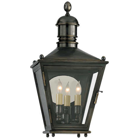 Sussex Small 3/4 Lantern in Bronze