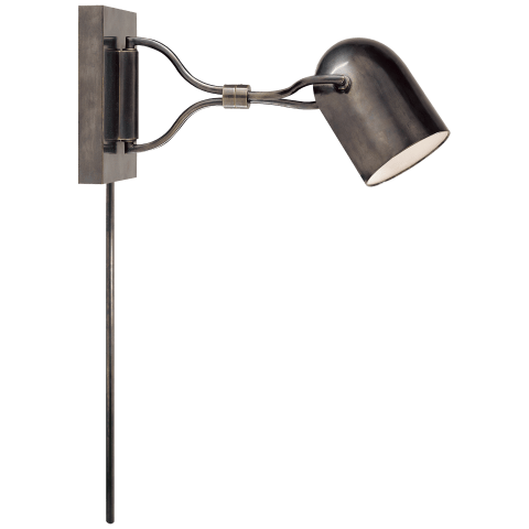Noho Double Torchiere Sconce in Bronze