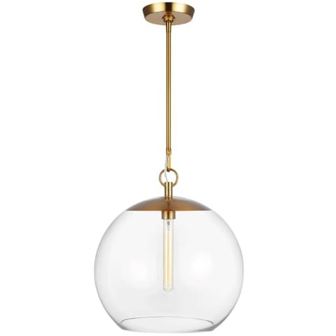 Atlantic 1 - Light Pendant Burnished Brass