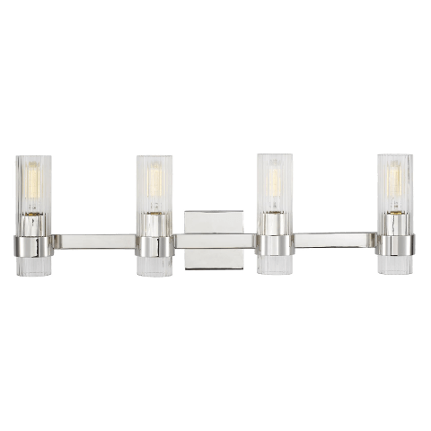 Geneva 4 - Light Vanity Polished Nickel