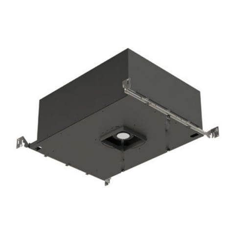 "4"" ELEMENT New Construction Adjustable Square Flangeless Housing LED 2700K 80 CRI, 18, High Output"
