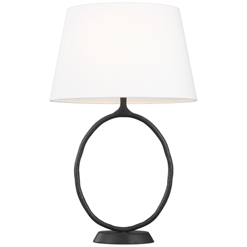 Indo 1 - Light Table Lamp Aged Iron Bulbs Inc