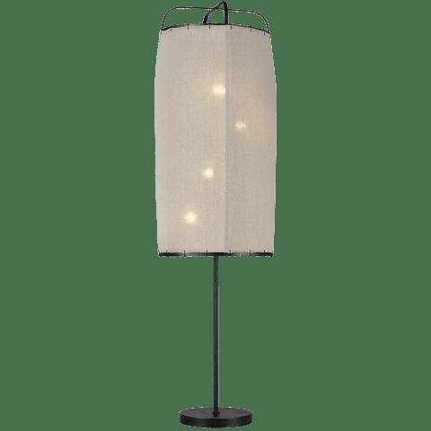 Dunne 4 - Light Floor Lamp Aged Iron Bulbs Inc