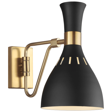 Joan Task Sconce Midnight Black