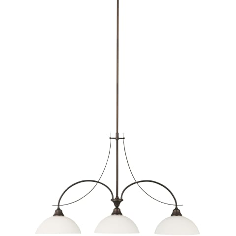Boulevard 3 - Light Island Chandelier Oil Rubbed Bronze