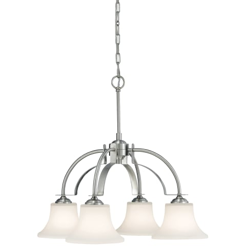 Barrington 4 - Light Kitchen Chandelier Brushed Steel