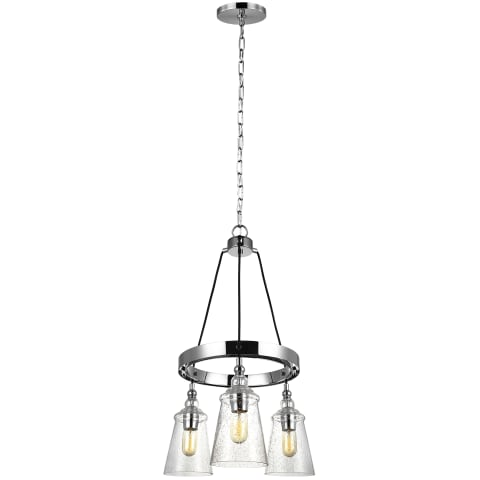 Loras 3 - Light Chandelier Chrome