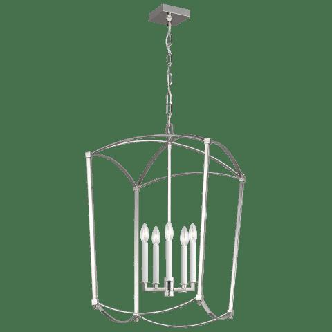 Thayer Large Lantern Polished Nickel