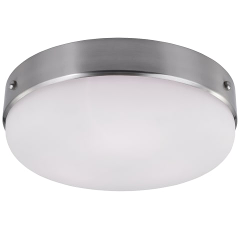 Cadence Large Flush Mount Brushed Steel