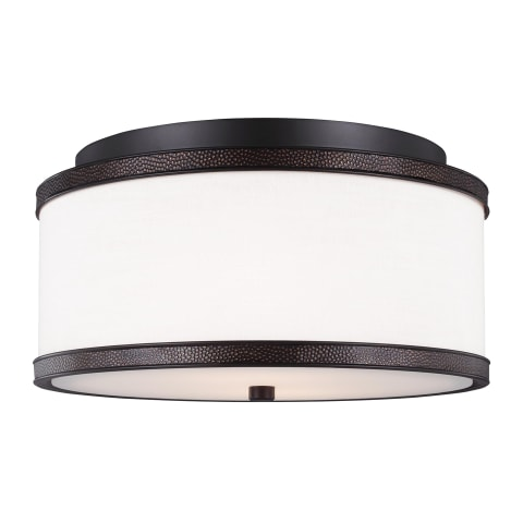 Marteau 2 - Light Indoor Flush Mount Oil Rubbed Bronze