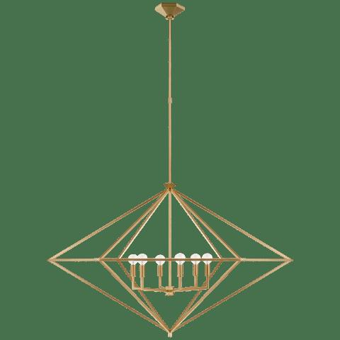 Afton Grande Lantern in Gild