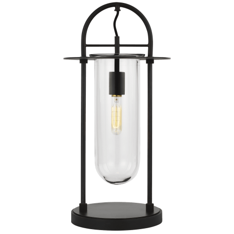 Nuance 1 - Light Table Lamp Aged Iron Bulbs Inc