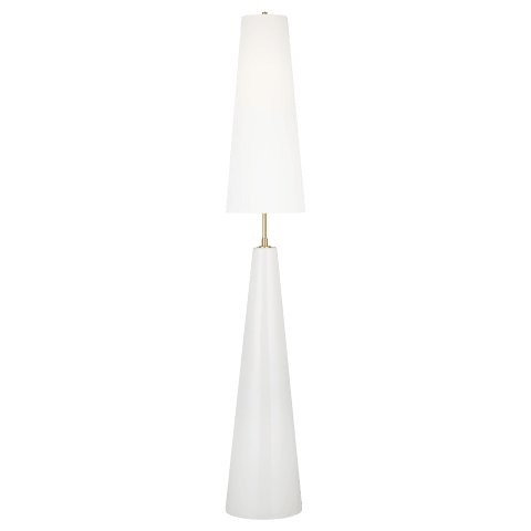 Lorne 1 - Light Floor Lamp Arctic White Bulbs Inc