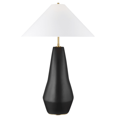 Contour Tall Table Lamp Coal Bulbs Inc