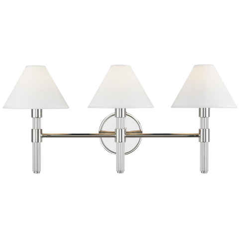 Robert 3 - Light Vanity Polished Nickel