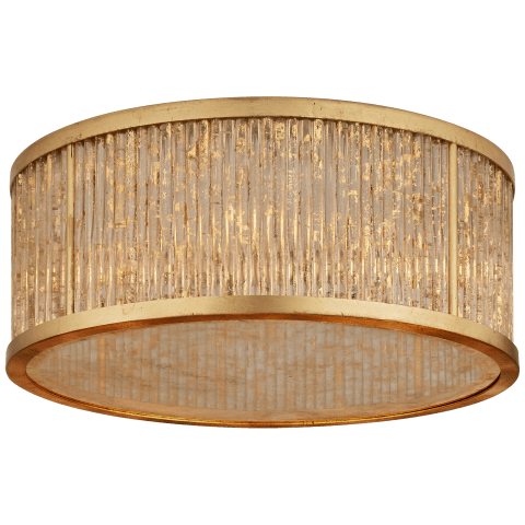 Sophie Large Flush Mount in Gilded Iron
