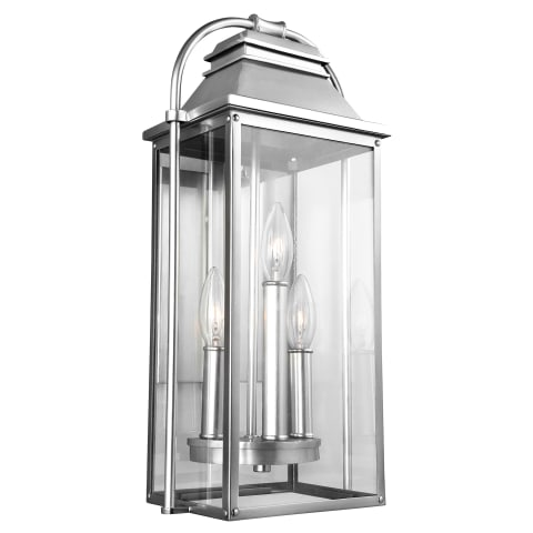 Wellsworth Small Lantern Painted Brushed Steel