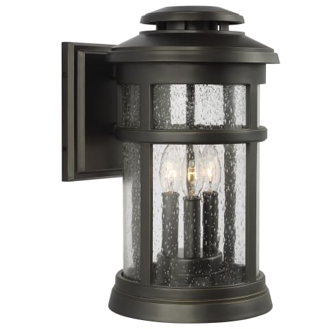 Newport 3 - Light Wall Lantern Antique Bronze