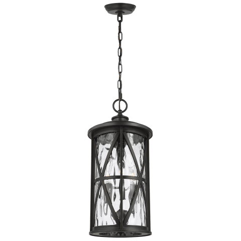 Millbrooke 3 - Light Outdoor Pendant Antique Bronze
