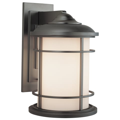 Lighthouse 1 - Light Wall Lantern Brushed Steel