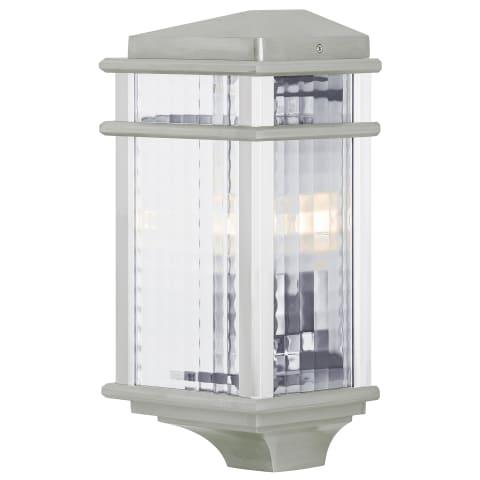 Mission Lodge Small Pocket Lantern Brushed Aluminum