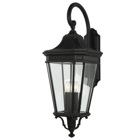 Cotswold Lane Extra Large Lantern Black