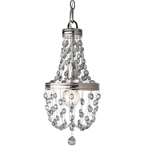 Malia 1 - Light Mini Pendant  Polished Nickel