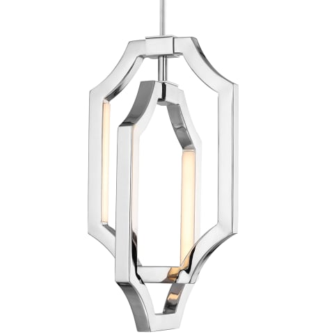 Audrie Small LED Pendant Polished Nickel Bulbs Inc