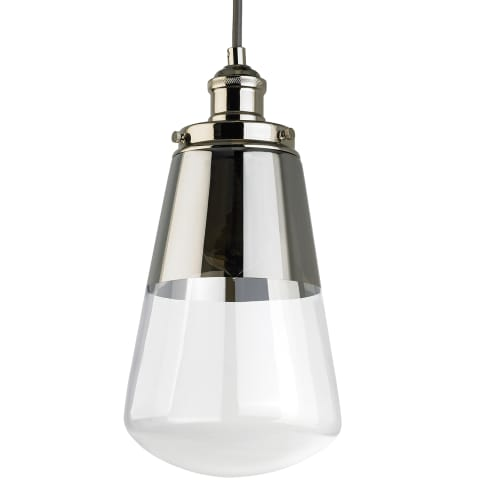 Waveform 1 - Light Mini-Pendant Polished Nickel
