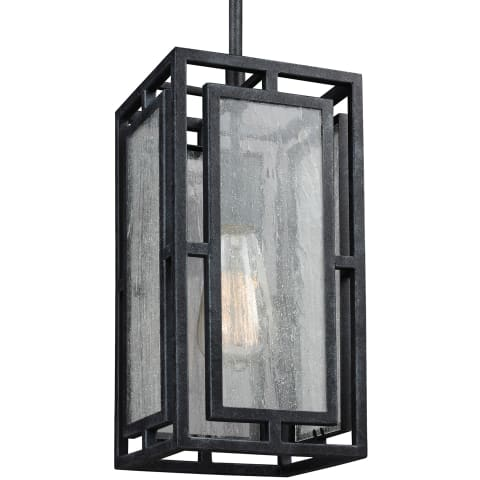 Prairielands 1 - Light Mini-Pendant Dark Weathered Zinc