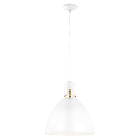 Brynne 1 - Light Medium LED Pendant Flat White