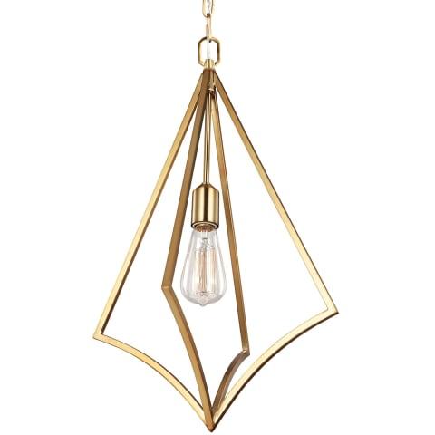 Nico 1 - Light Medium Pendant Burnished Brass