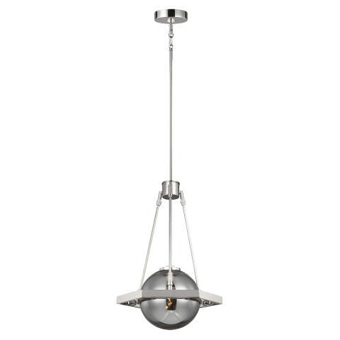 Harper 1 - Light Pendant Polished Nickel