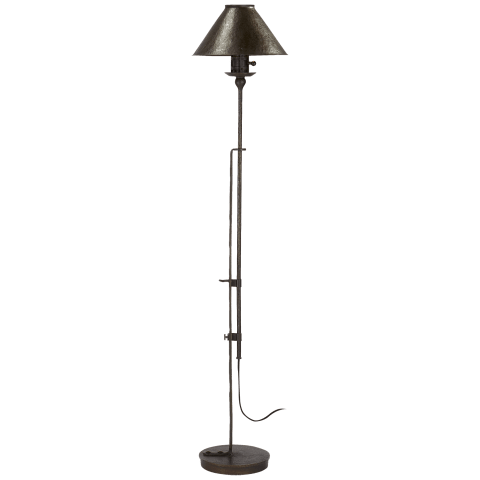 Naomi Floor Lamp in Aged Iron