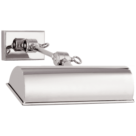"""Anette 9"""" Picture Light in Polished Nickel"""