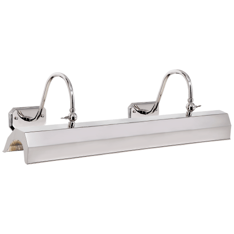 Willoughby XL Picture Light in Polished Nickel