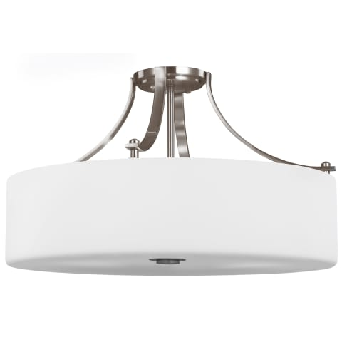 Sunset Drive 4 - Light Semi-Flush Mount Brushed Steel