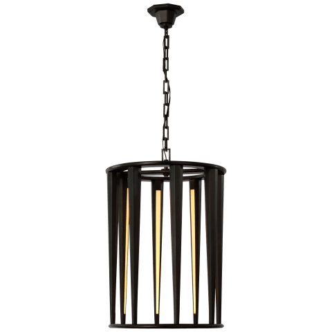 Galahad Medium Lantern in Bronze
