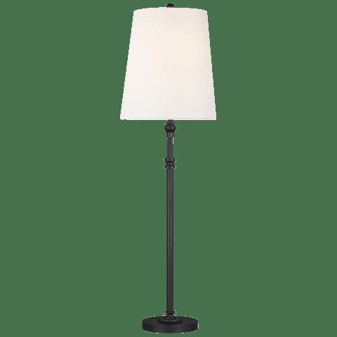 Capri Buffet Lamp Aged Iron Bulbs Inc