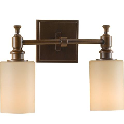 Sullivan 2 - Light Vanity Fixture Heritage Bronze