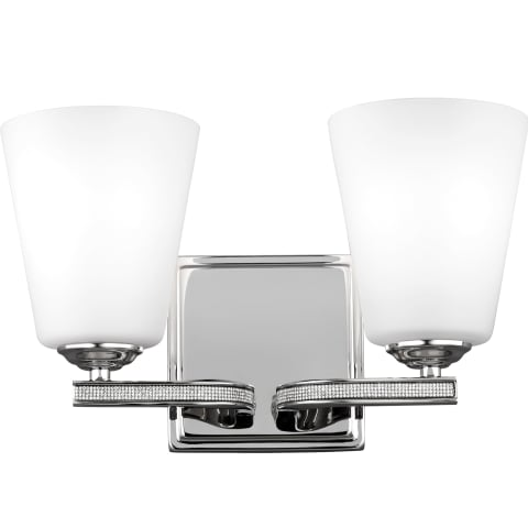 Pave 2 - Light Vanity Polished Nickel