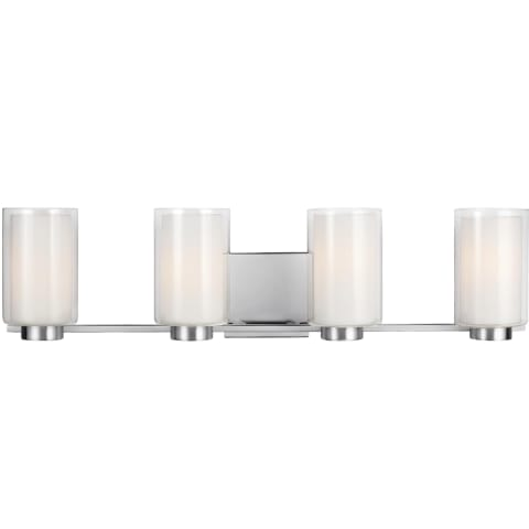 Bergin 4 - Light Vanity Satin Nickel
