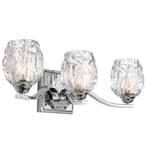 Kalli 3 - Light Vanity Chrome Bulbs Inc