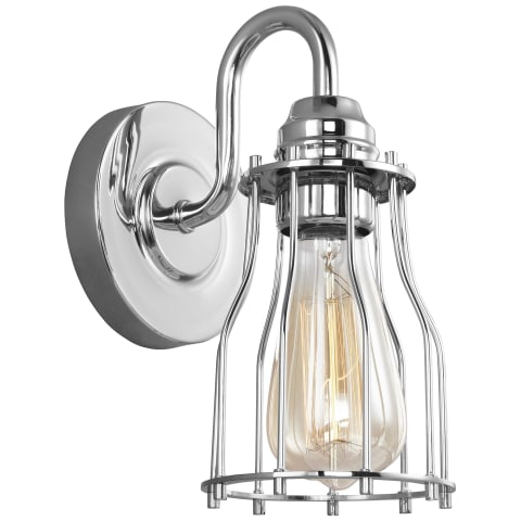 Calgary 1 - Wall Sconce Chrome