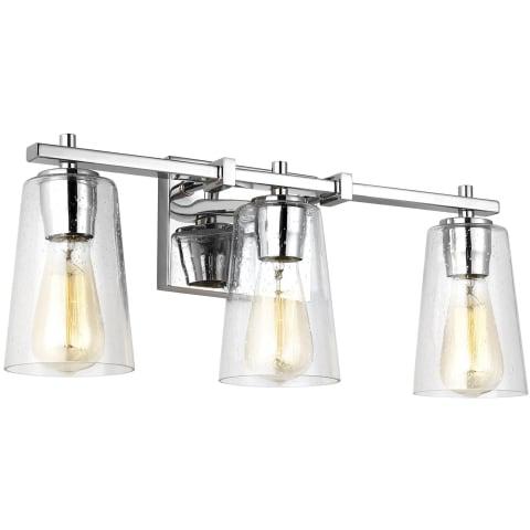 Mercer 3 - Light Vanity Chrome